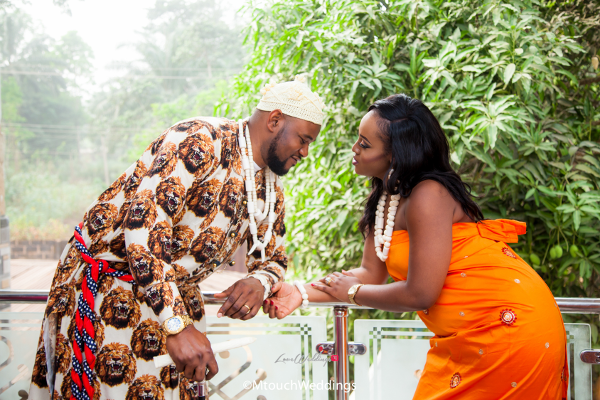 Nigerian Traditional Igbo Couple Adaora and Solomon MTouch Weddings LoveWeddingsNG 2