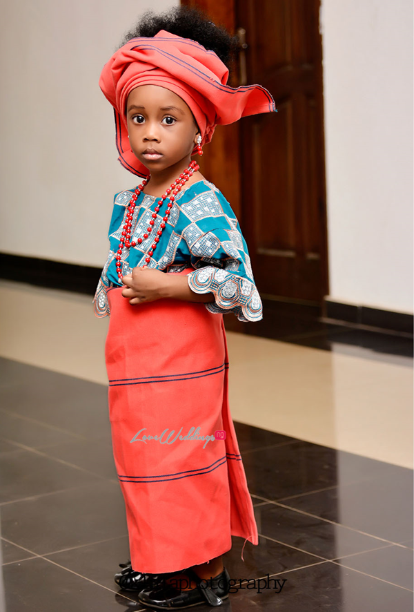 Nigerian Traditional Little Bride Dami and Bayo Klala Photography LoveweddingsNG