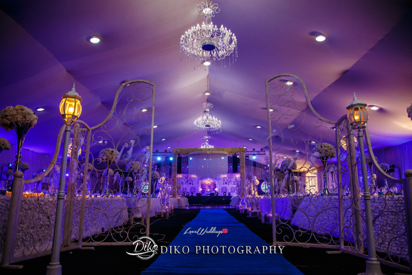 Nigerian Wedding Decor and Cake Toyosi Ilupeju and Wole Makinwa WED Dream Wedding Details Diko Photography LoveWeddingsNG 1