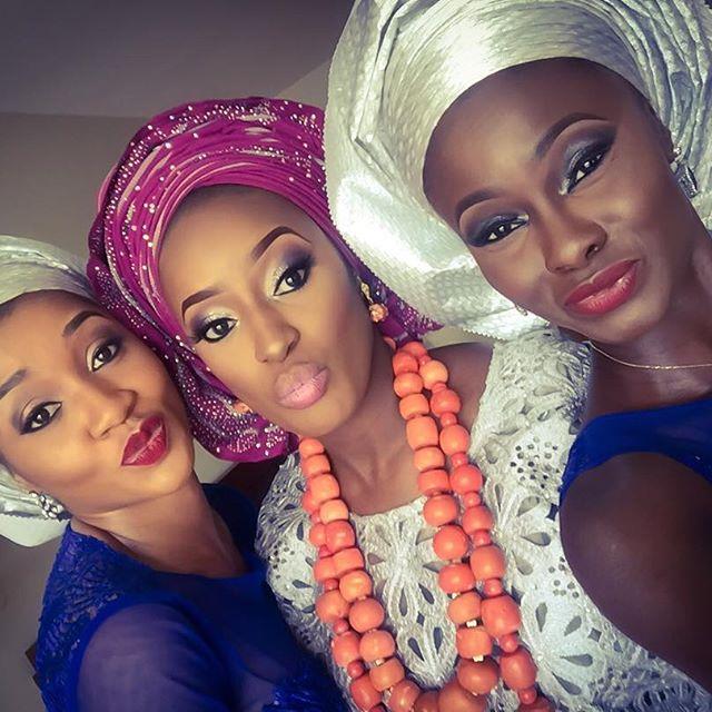 Nigerian Wedding Guest Aso Ebi Style LoveweddingsNG #JATA2016 10