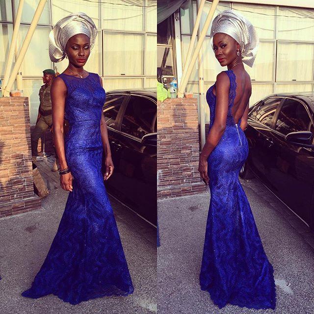 Nigerian Wedding Guest Aso Ebi Style LoveweddingsNG #JATA2016 5