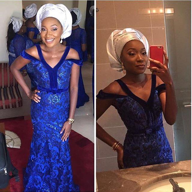 Nigerian Wedding Guest Aso Ebi Style LoveweddingsNG #JATA2016