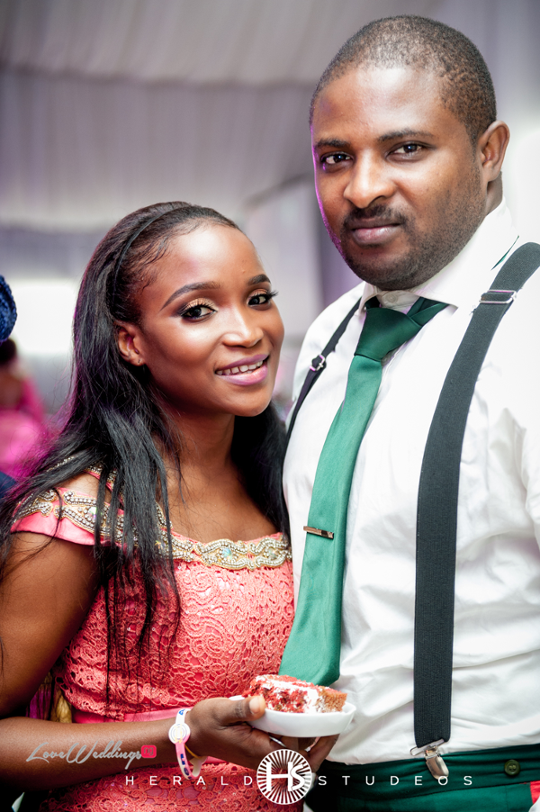 Nigerian Wedding Guests Tosin and Hassan Herald Studeos LoveWeddingsNG