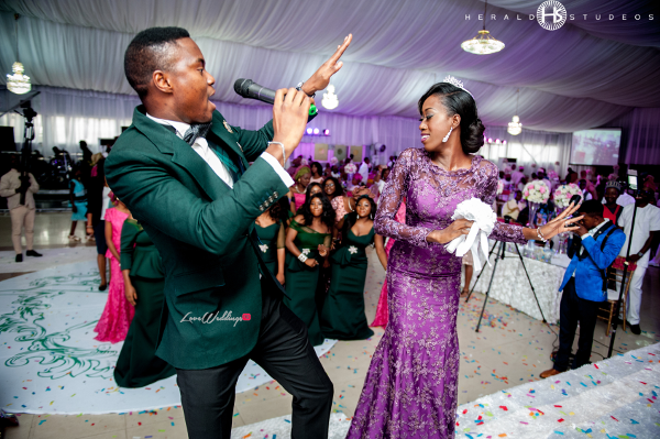 Nigerian bride and Wedding MC Tosin and Hassan Herald Studeos LoveWeddingsNG