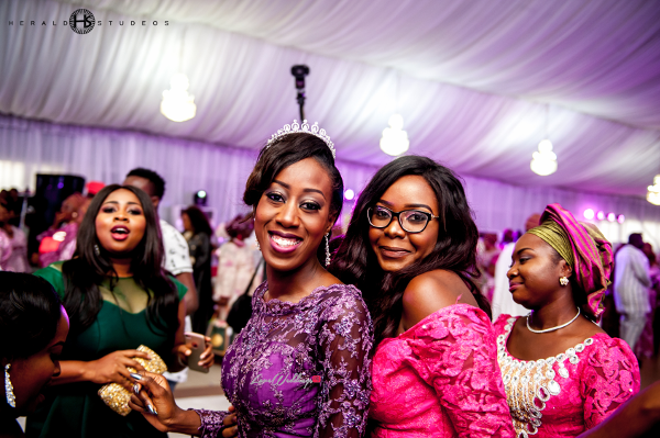 Nigerian bride and friends Tosin and Hassan Herald Studeos LoveWeddingsNG