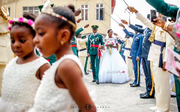 Nigerian military wedding Tosin and Hassan Herald Studeos LoveWeddingsNG 1