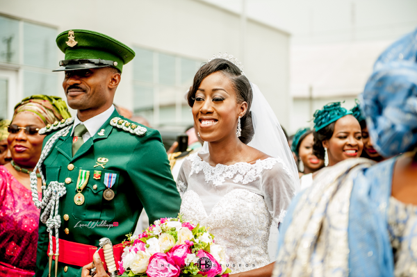 Nigerian military wedding Tosin and Hassan Herald Studeos LoveWeddingsNG 3