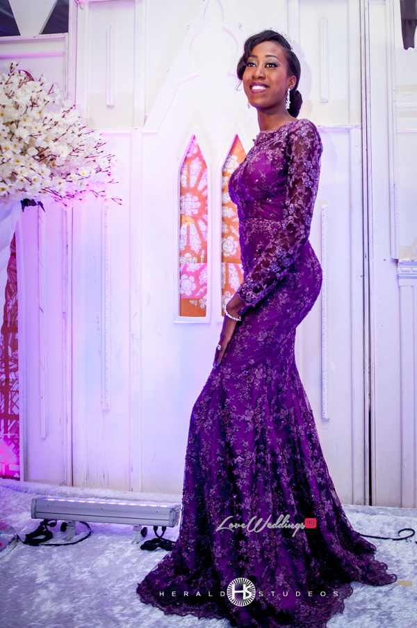 Nigerian reception dress Tosin and Hassan Herald Studeos LoveWeddingsNG 2