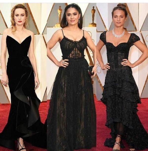 Oscars 2017 Black Wedding Guest Style Inspiration LoveWeddingsNG 1