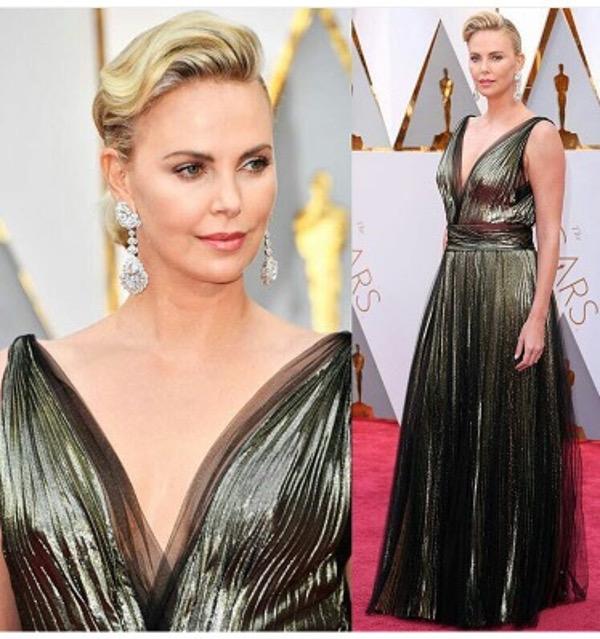 Oscars 2017 - Charlize Theron Wedding Groom Style Inspiration LoveWeddingsNG