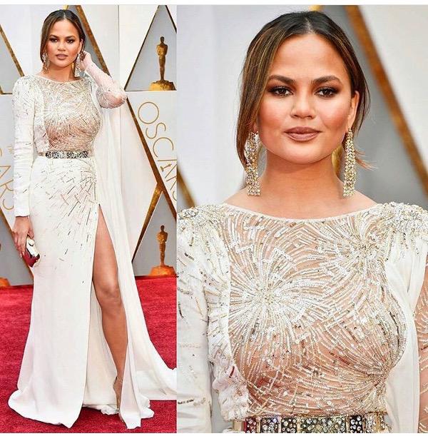 Oscars 2017 - Chrissy Teigen Wedding Groom Style Inspiration LoveWeddingsNG