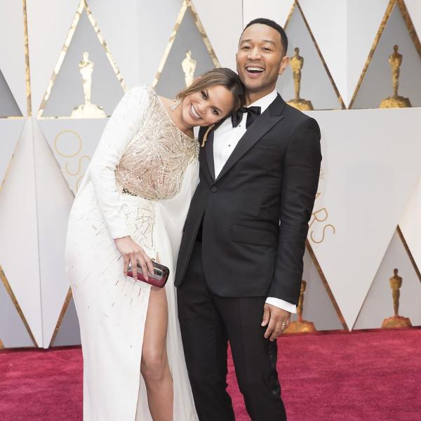 Oscars 2017 - Chrissy Teigen and John Legend Couple Inspiration LoveWeddingsNG