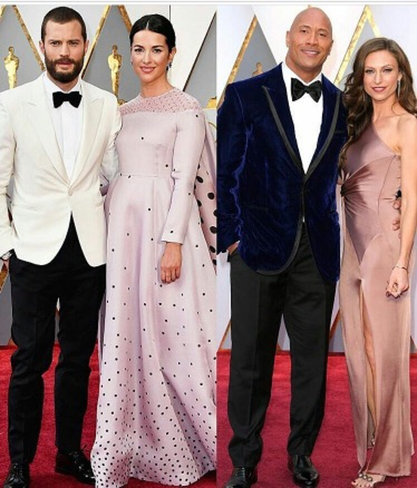 Oscars 2017 - Dwayne Johnson Couple Wedding Groom Style Inspiration LoveWeddingsNG