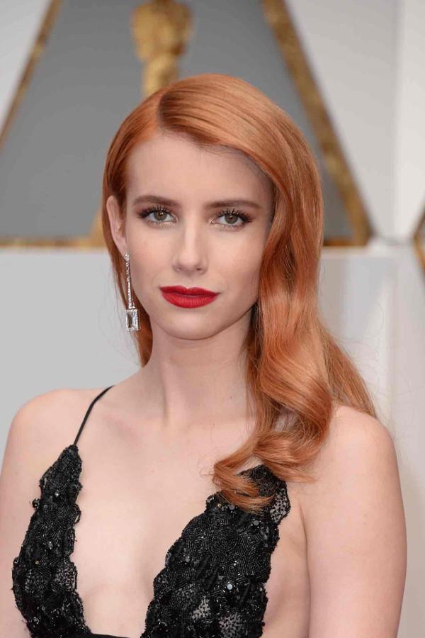 Oscars 2017 - Emma Roberts Bridal Beauty Look LoveWeddingsNG