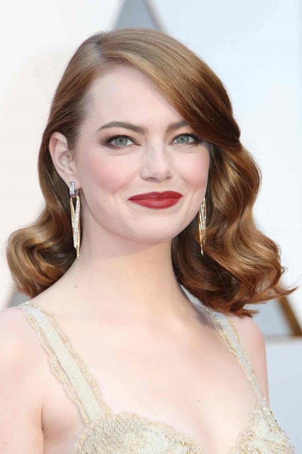 Oscars 2017 - Emma Stone Bridal Hair Inspiration LoveWeddingsNG