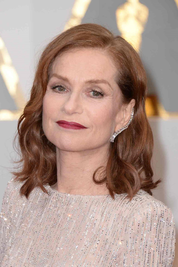 Oscars 2017 - Isabelle Huppert Bridal Hair Inspiration LoveWeddingsNG