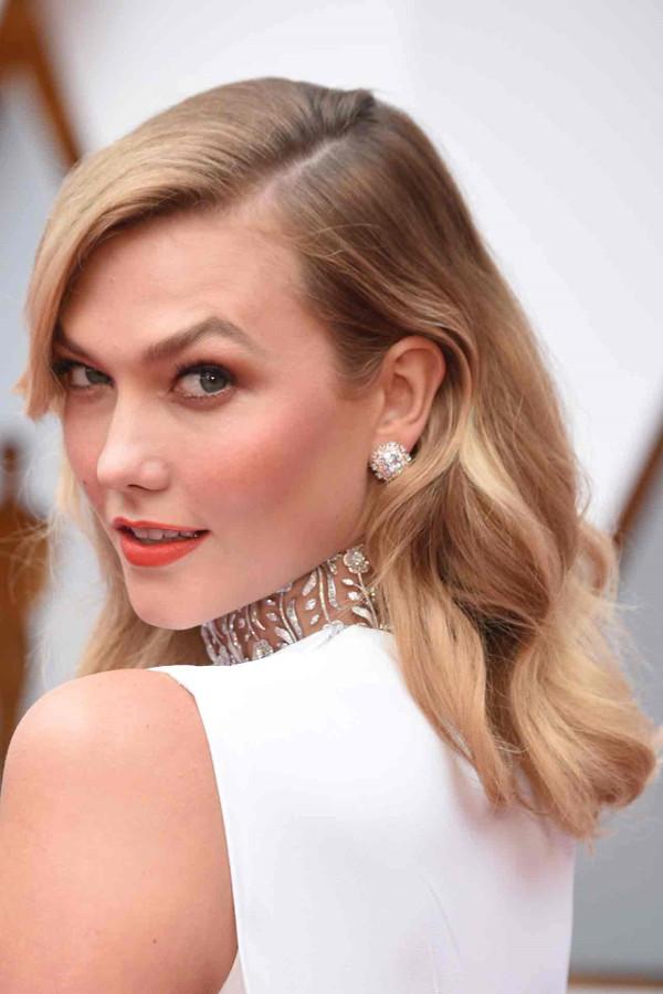 Oscars 2017 - Karlie Kloss Bridal Hair Inspiration LoveWeddingsNG