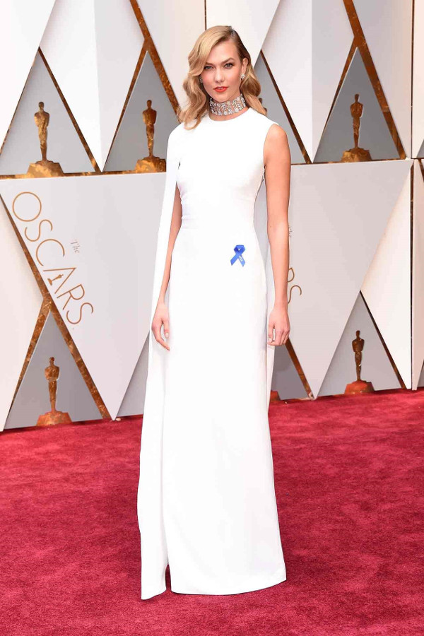 Oscars 2017 - Karlie Kloss in Stella McCartney Bridal Inspiration LoveWeddingsNG