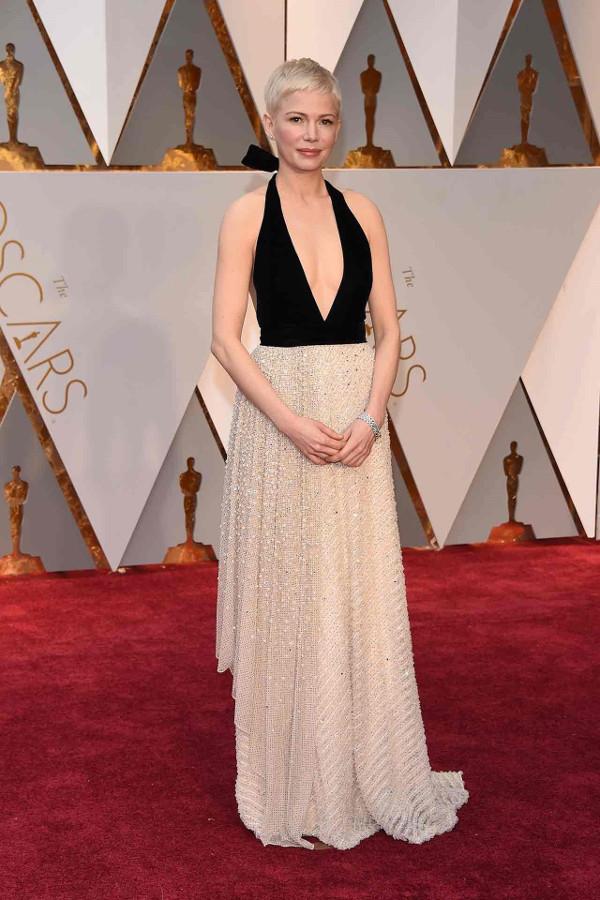 Oscars 2017 - Michelle Williams in Louis Vuitton LoveWeddingsNG