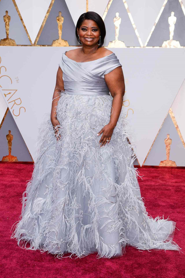 Oscars 2017 - Octavia Spencer in Marchesa LoveWeddingsNG