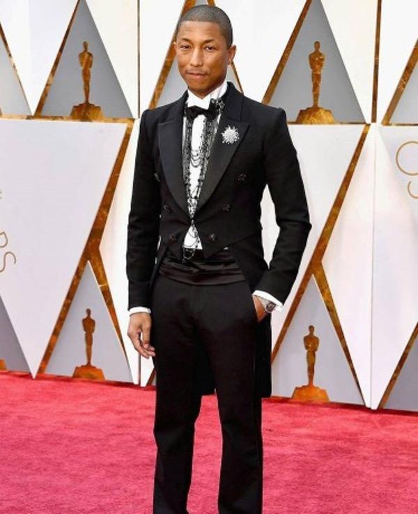 Oscars 2017 - Pharrell Wedding Groom Style Inspiration LoveWeddingsNG