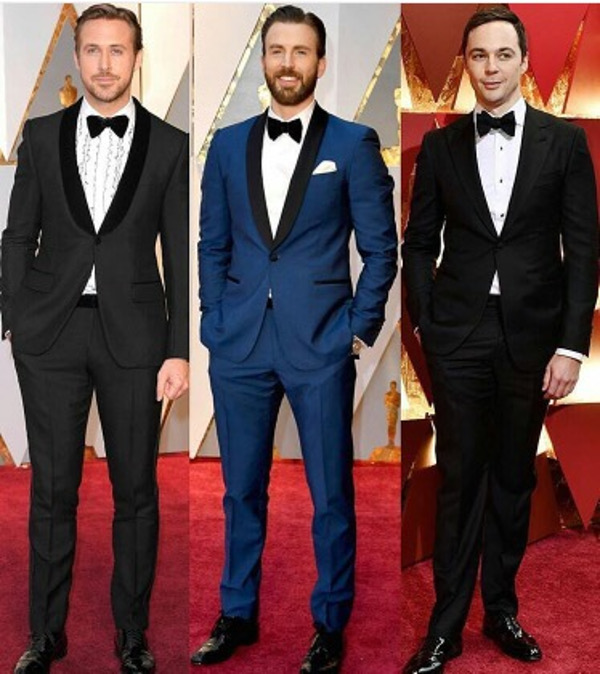Oscars 2017 - Scarlett Johannsen Wedding Groom Style Inspiration LoveWeddingsNG