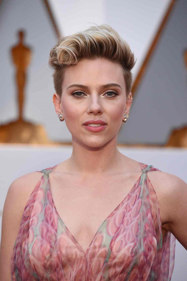Oscars 2017 - Scarlett-Johansson Bridal Hair Inspiration LoveWeddingsNG