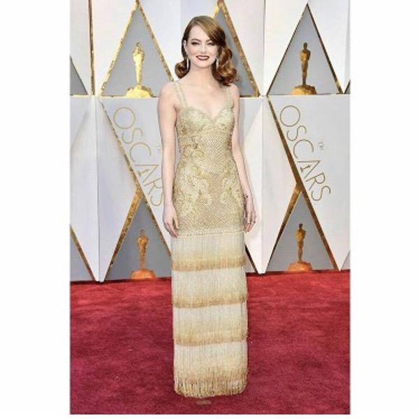 Oscars 2017 Second Dress Wedding Style Inspiration LoveWeddingsNG 1