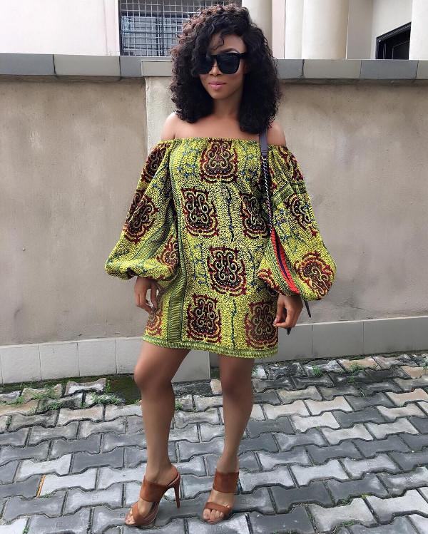 Toke Makinwa Nigerian Wedding Guest Style Inspiration LoveWeddingsNG 6