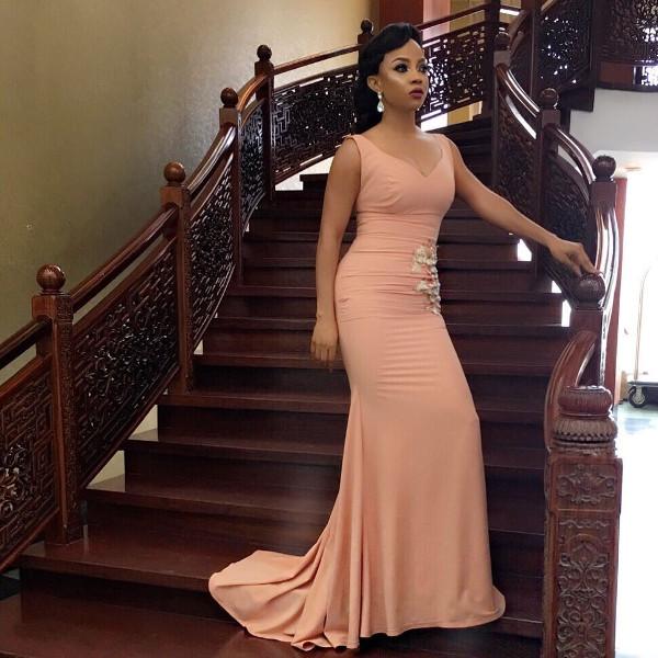 Toke Makinwa Nigerian Wedding Guest Style Inspiration LoveWeddingsNG 7
