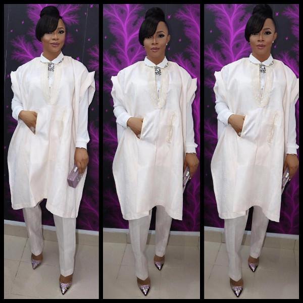 Toke Makinwa Nigerian Wedding Guest Style Inspiration LoveWeddingsNG