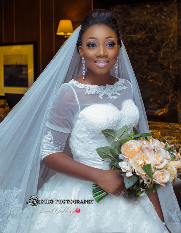 Toyosi Ilupeju and Wole Makinwa WED Dream Wedding Diko Photography LoveWeddingsNG