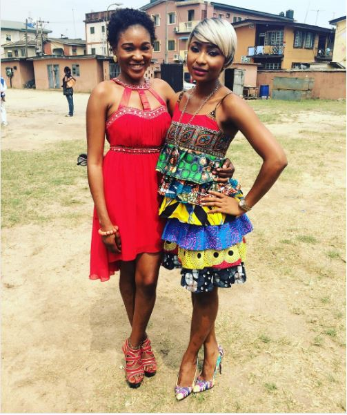 Yvonne Jegede Fawole Traditional Wedding Guest - Judith Audu & Belinda Effah LoveWeddingsNG