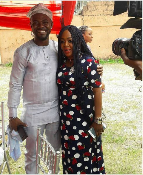 Yvonne Jegede Fawole Traditional Wedding Guest - The Groom & Helen PaulLoveWeddingsNG