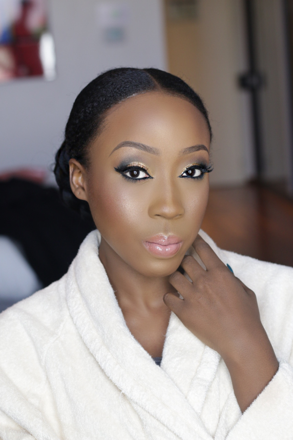 AMVCA 2017 - Beverly Naya by Flawless faces by jane Bridal Beauty Look Africa Magic Viewers Choice Awards 2017 LoveWeddingsNG
