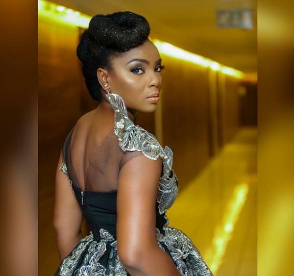 AMVCA 2017 - Chioma Akpotha by Bizlee (House of Tara) Bridal Beauty Look Africa Magic Viewers Choice Awards 2017 LoveWeddingsNG