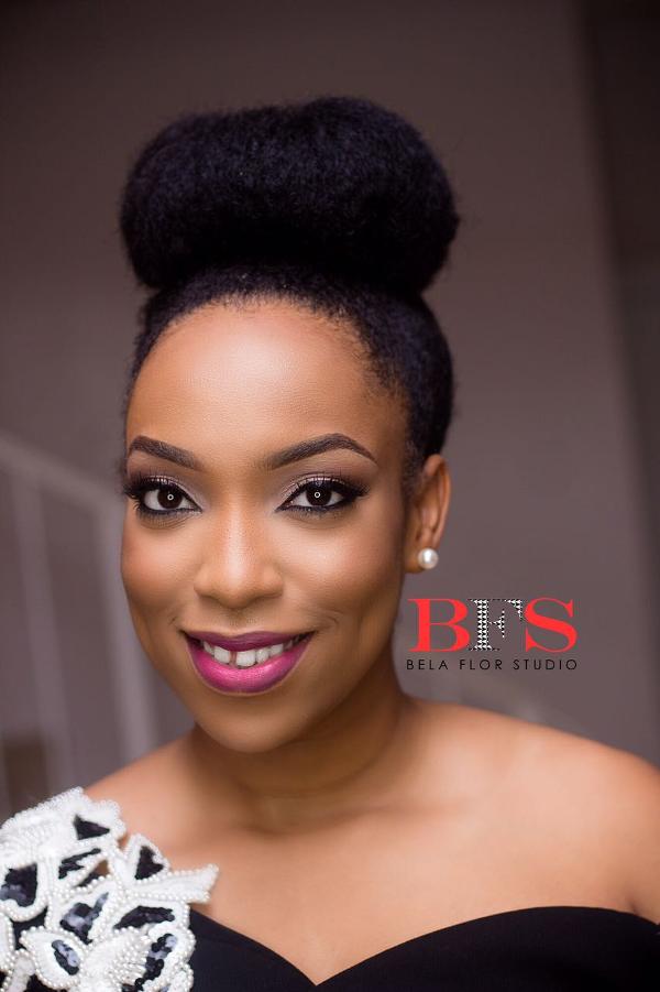 AMVCA 2017 - Eki Ogunbor by BFS Artistry Bridal Beauty Look Africa Magic Viewers Choice Awards 2017 LoveWeddingsNG