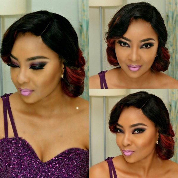AMVCA 2017 - Linda Ejiofor by Kabitibi Signature Bridal Beauty Look Makeup Africa Magic Viewers Choice Awards 2017 LoveWeddingsNG