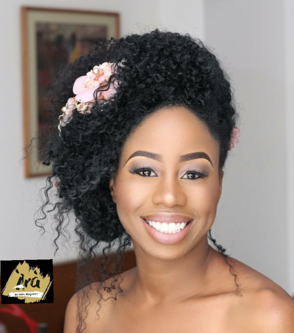 AMVCA 2017 - NanA'rese by Ara by Laide Bridal Beauty Look Africa Magic Viewers Choice Awards 2017 LoveWeddingsNG