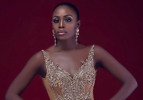 AMVCA 2017 - Nana Bridal Beauty Look Belle Bedazzled Africa Magic Viewers Choice Awards 2017 LoveWeddingsNG