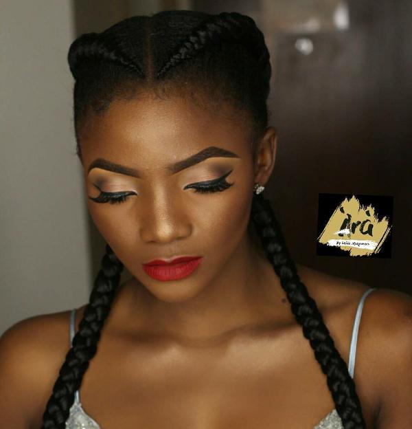 AMVCA 2017 - Simi Bridal Beauty Look Ara by laide Africa Magic Viewers Choice Awards 2017 LoveWeddingsNG