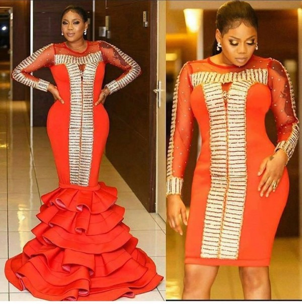AMVCA 2017 - Toyin Lawani Africa Magic Viewers Choice Awards 2017 LoveWeddingsNG