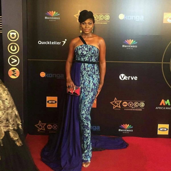 AMVCA 2017 - Ufoma McDermott Africa Magic Viewers Choice Awards 2017 LoveWeddingsNG