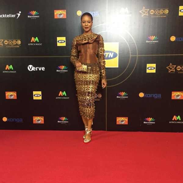 AMVCA 2017 - Zainab Balogun Africa Magic Viewers Choice Awards 2017 LoveWeddingsNG