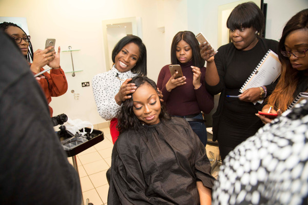 Deborah Lola Showcasing My Skills Course March 2017 LoveWeddingsNG
