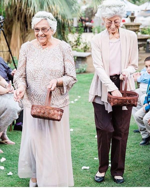 Grandma at a wedding LoveWeddingsNG