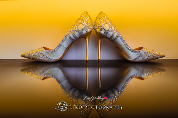 Nigerian Bridal Shoes Omolade and Adekunle Diko Photography LoveWeddingsNG