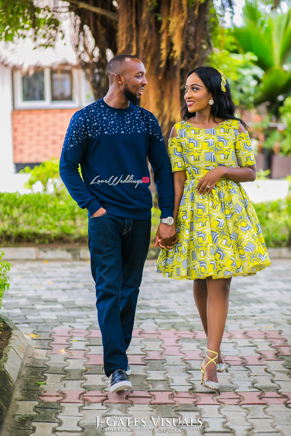 Nigerian PreWedding Yetunde and Olatunde Tessallure Events LoveWeddingsNG 10