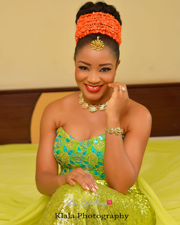 Nigerian Traditional Bridal Makeup Ifeyinwa and Chidi Klala Photography LoveWeddingsNG 3