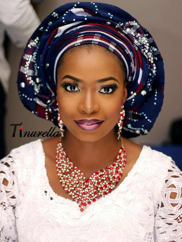 Nigerian Traditional Bridal Makeup Tinurella LoveWeddingsNG 2
